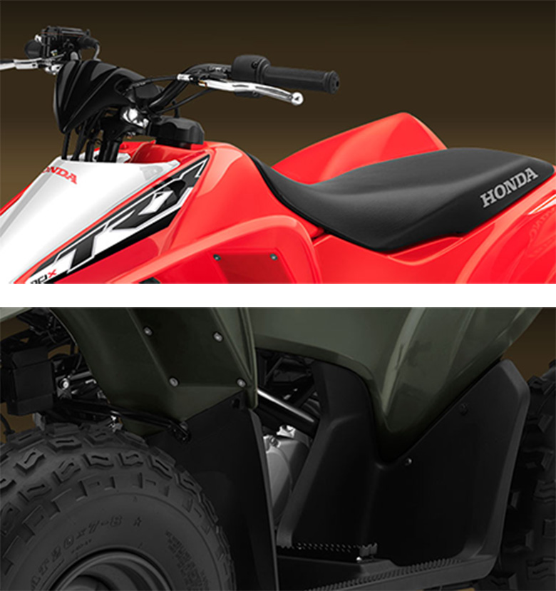 2017 TRX90X Honda Sports Quad Bike Specs