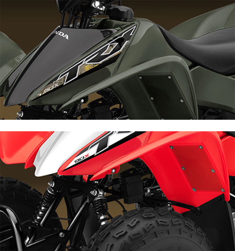 2017 TRX90X Honda Sports Quad Bike