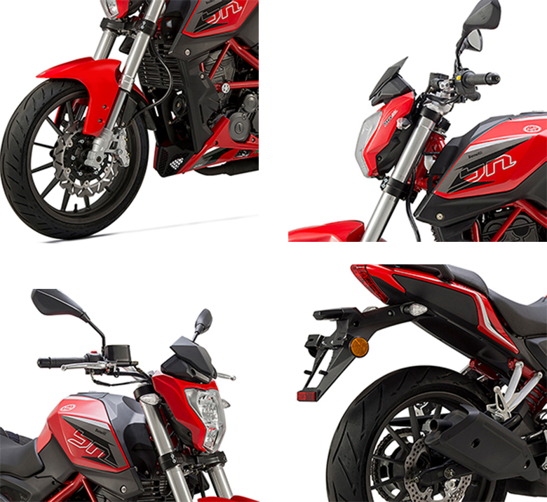 Benelli BN 251 Naked Motorcycle Specs