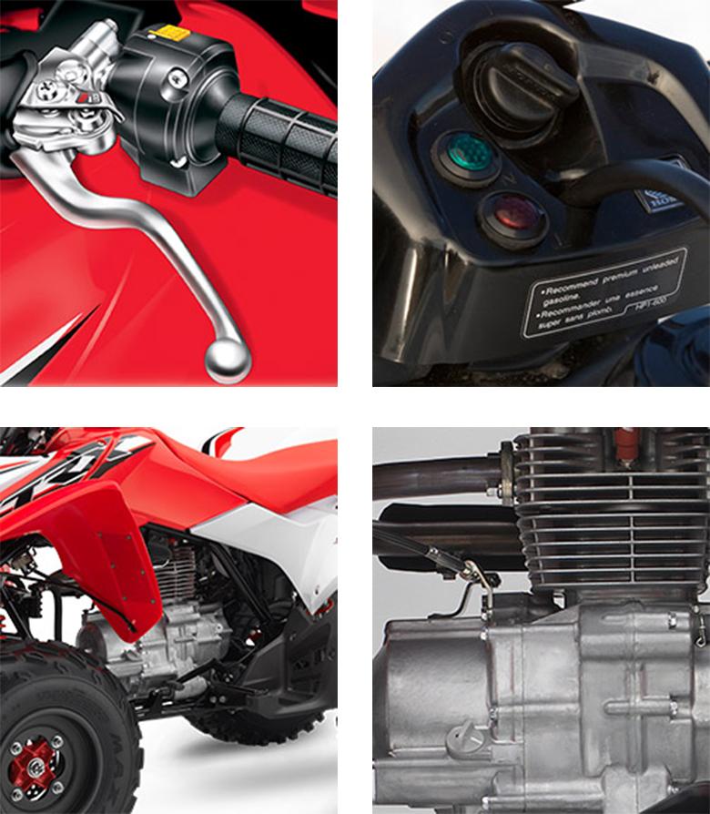 TRX250X 2017 Honda Sports ATV Specs