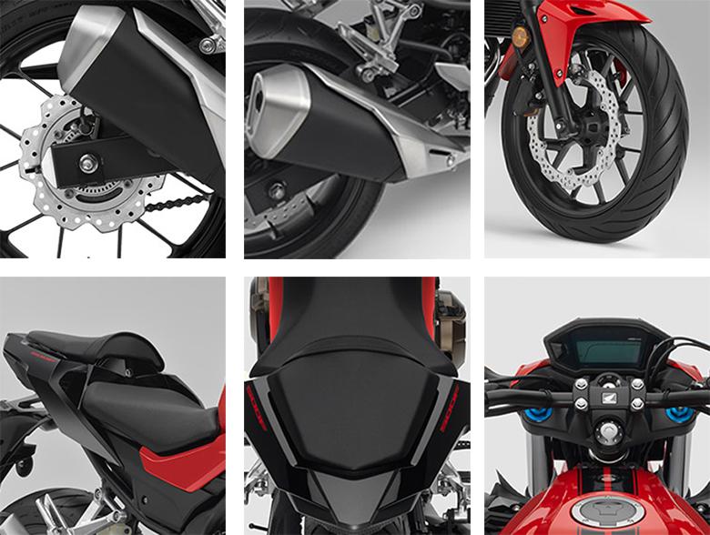 2017 CB500F Honda Sports Bike Specs