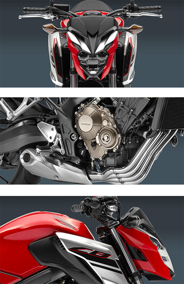 2018 CB650F Honda Sports Motorcycle Specs