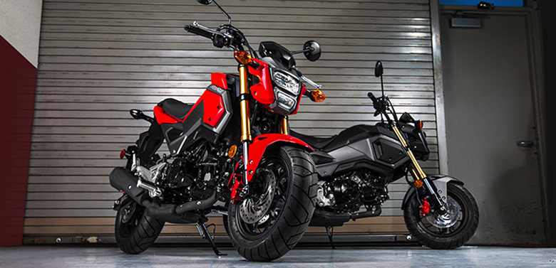 2018 Honda Grom Urban Sports Motorcycle