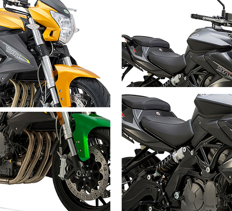 BN 600 I Benelli Naked Motorcycle Specs