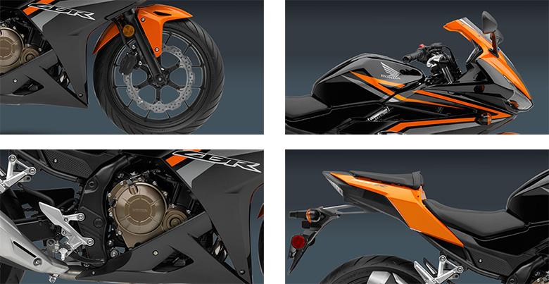 Honda CBR500R 2017 Sports Motorcycle Specs