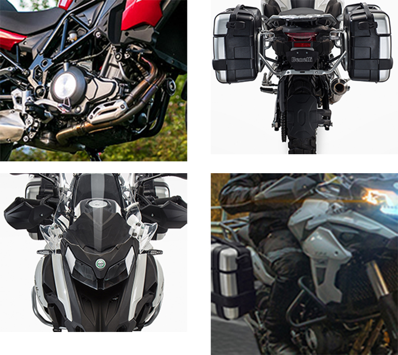 TRK 502 Benelli Touring Motorcycle Specs