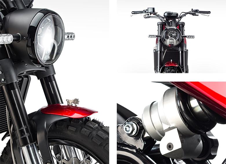 2017 Benelli Leoncino Scrambler Bike Specs