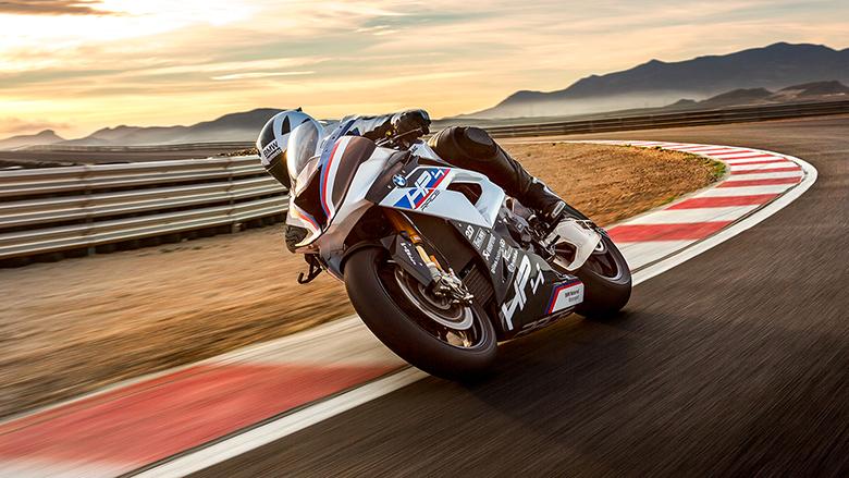 2017 HP4 Race BMW SuperSport Bike