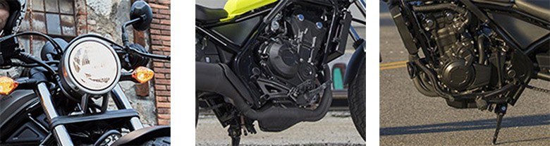 2017 Rebel 500 Honda Cruiser Bike Specs