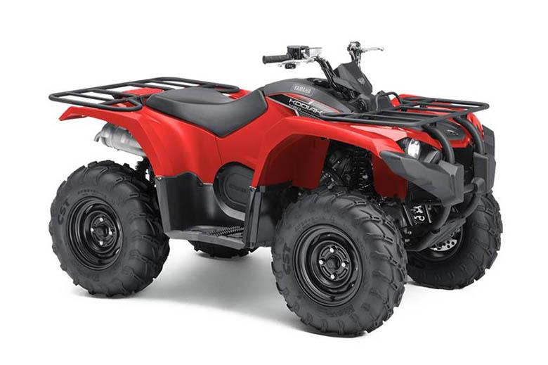 Yamaha Kodiak  Suspension