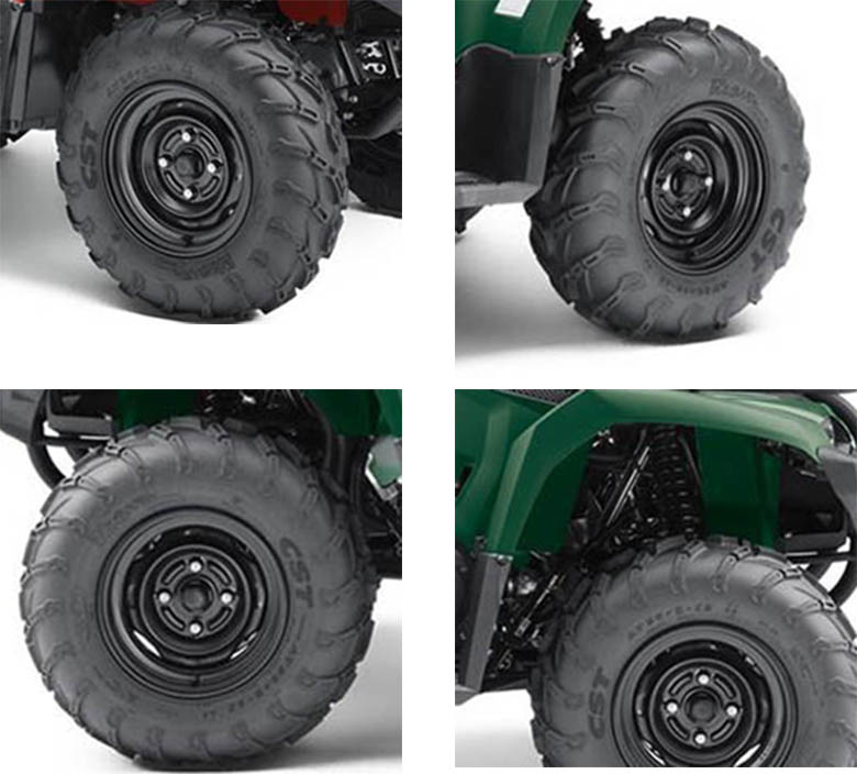 What Are The Dimensions Of A  Yamaha Kodiak
