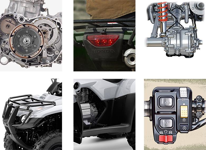 2018 FourTrax Recon Honda Utility ATV Specs