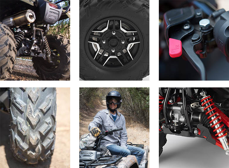 2018 Honda FourTrax Foreman Rubicon 4x4 Utility ATV Specs