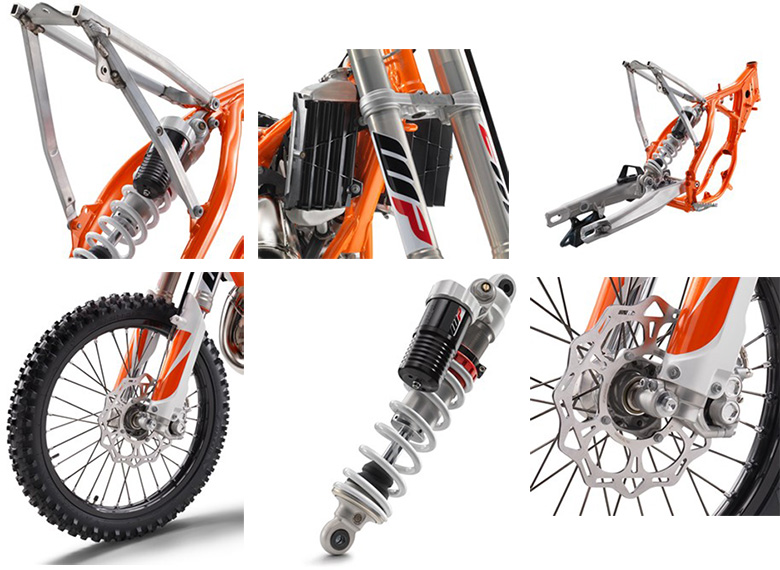 2018 KTM 85 SX 17-14 Dirt Bike Specs