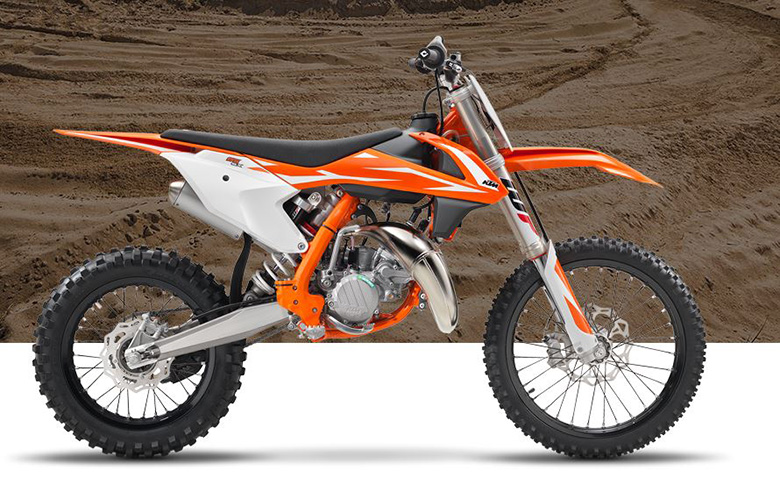 2018 KTM 85 SX 17-14 Dirt Bike