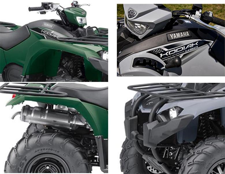 2018 Yamaha Kodiak 450 EPS Utility Quad Bike Specs