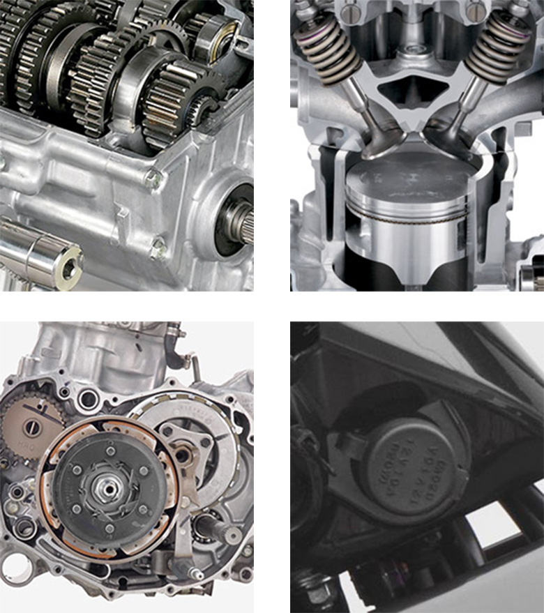 Honda 2018 FourTrax Rincon Utility ATV Specs