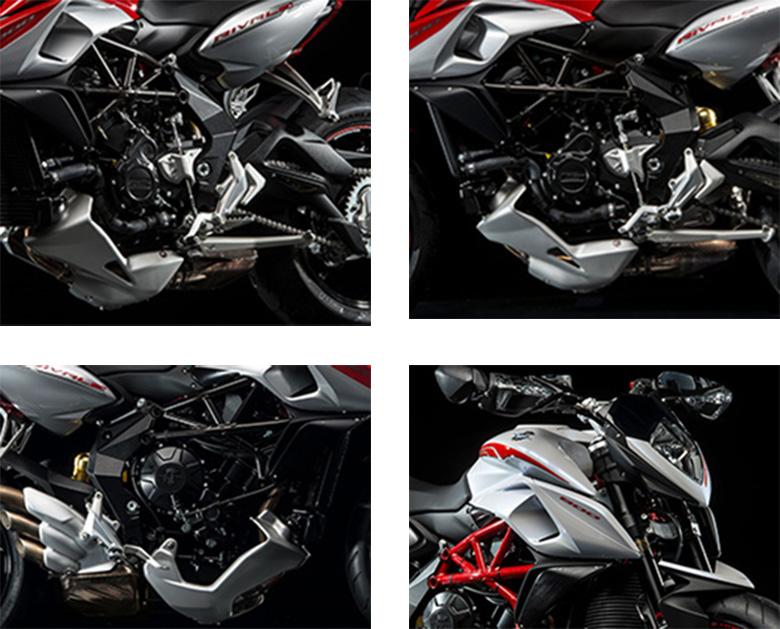 MV Agusta Rivale 800 2017 Naked Sports Bike Specs