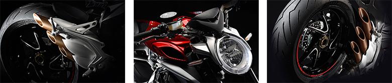 2017 MV Agusta Brutale 800 RR Naked Sports Specs