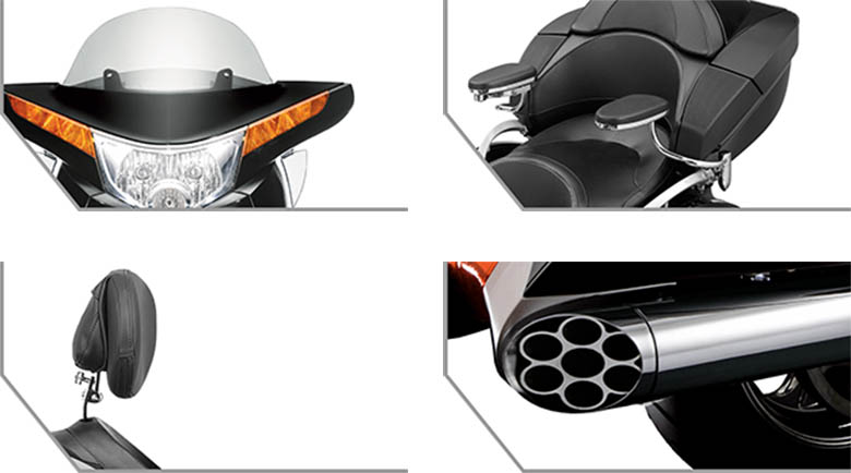 2017 Victory Vision Cruiser Motorcycle Specs