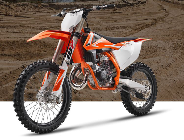 2018 KTM 125 SX Dirt Bike
