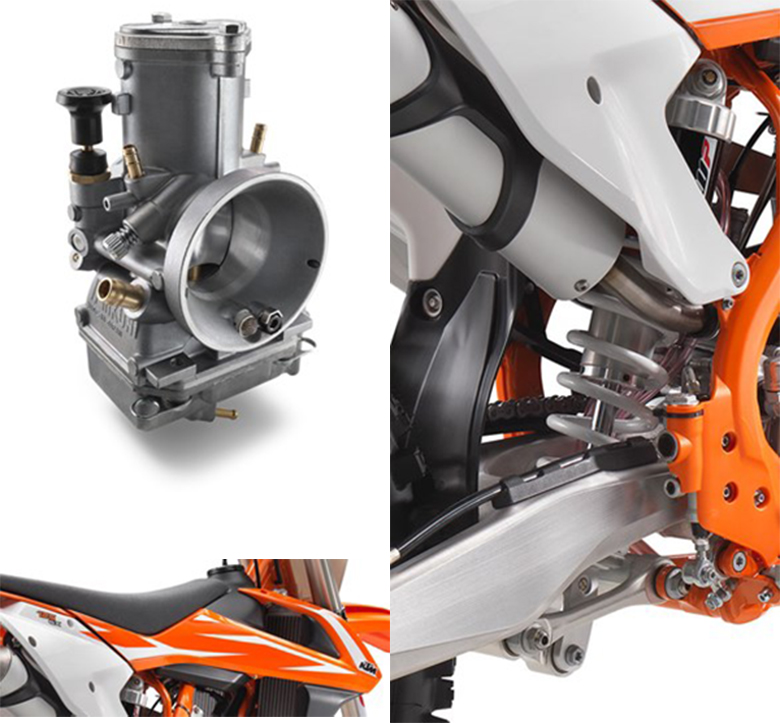 2018 KTM 125 SX Dirt Bike Specs