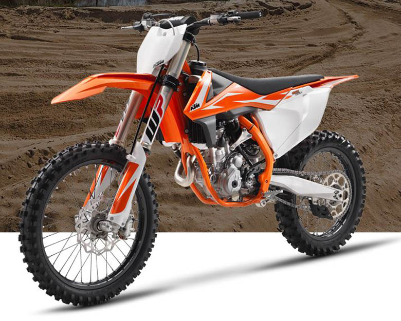 2018 KTM 250 SX-F Dirt Motorcycle