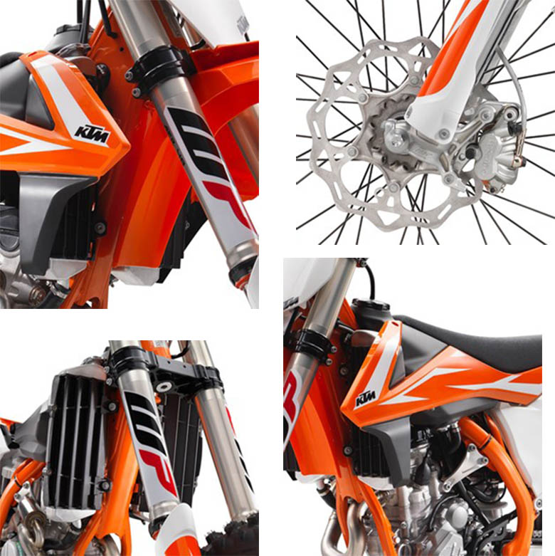 2018 KTM 250 SX-F Dirt Motorcycle Specs