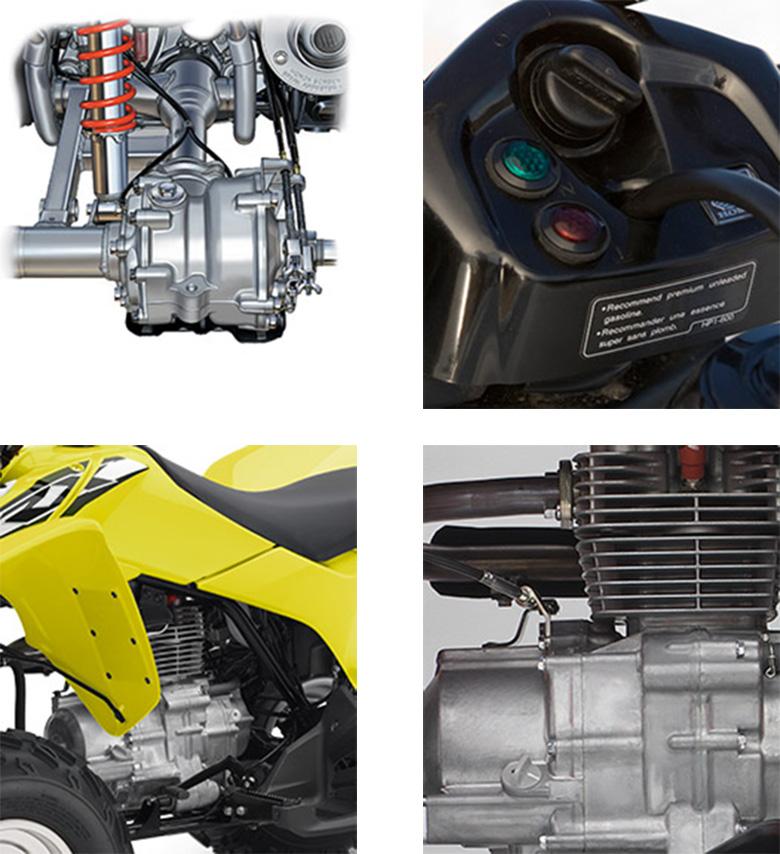 2018 TRX250X Honda Sports Quad Bike Specs