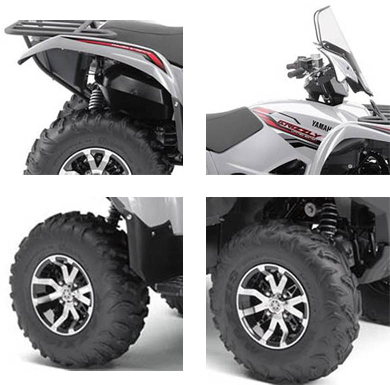 Yamaha 2018 grizzly eps le utility atv review price for 2017 yamaha grizzly review