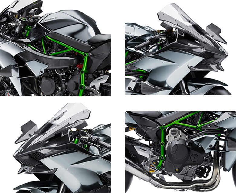 2017 Kawasaki Ninja H2R Sports Bike Specs