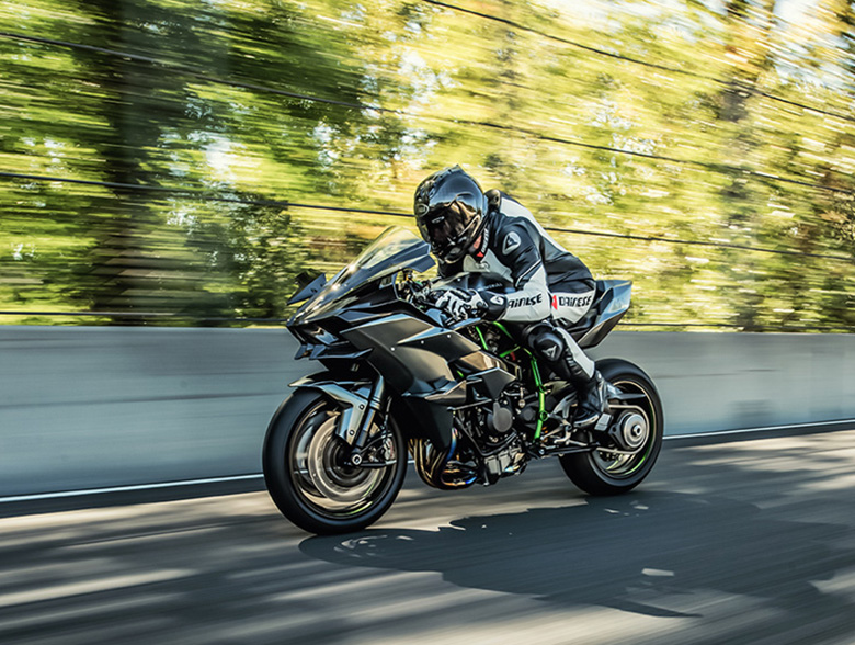 2017 Kawasaki Ninja H2R Sports Bike