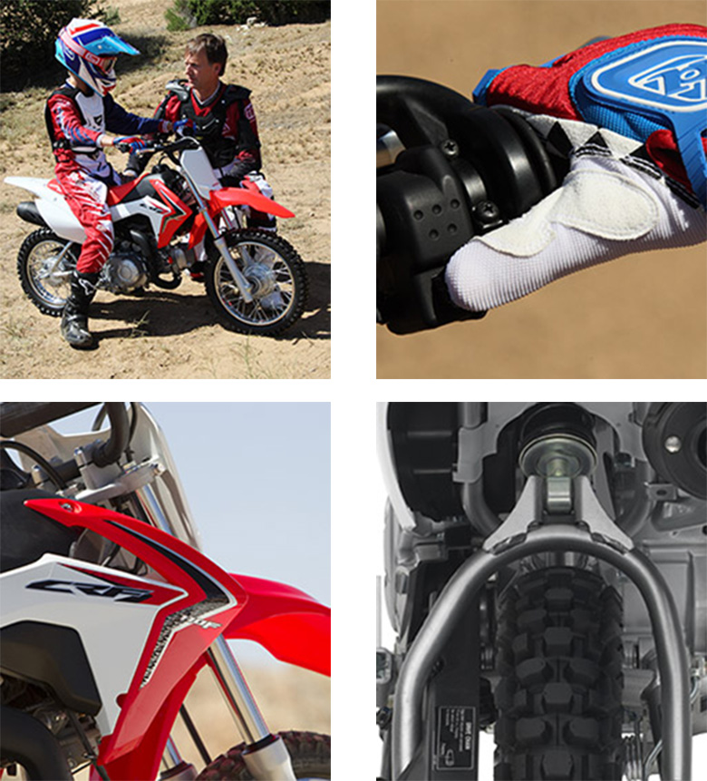 Miraculous Honda 2018 Crf110F Dirt Motorcycle Review Price Machost Co Dining Chair Design Ideas Machostcouk