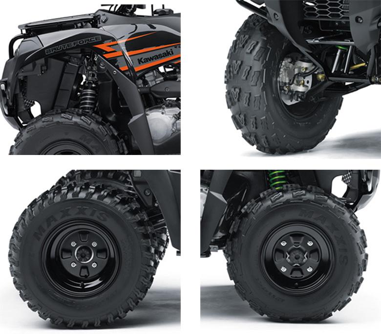Kawasaki 2018 Brute Force 300 Quad Bike Specs