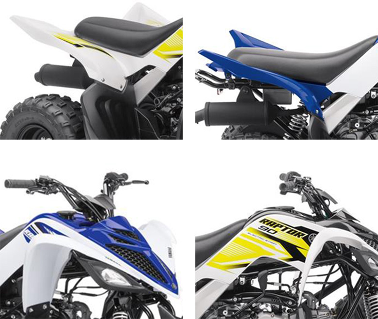 Raptor 90 2018 Yamaha Sports Quad Bike Specs
