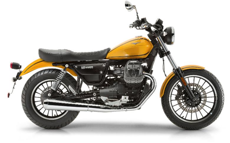 2017 Moto Guzzi V9 Roamer Custom Motorcycle