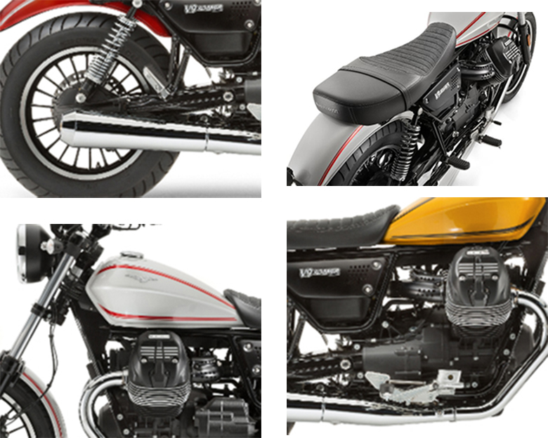 2017 Moto Guzzi V9 Roamer Custom Motorcycle Specs
