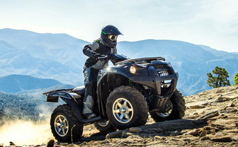 2018 Brute Force 750 4x4i EPS Quad Bike