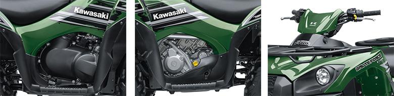 Kawasaki Brute Force Oil Capacity