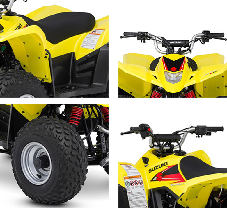 2018 QuadSport Z50 Suzuki Mini ATV Specs