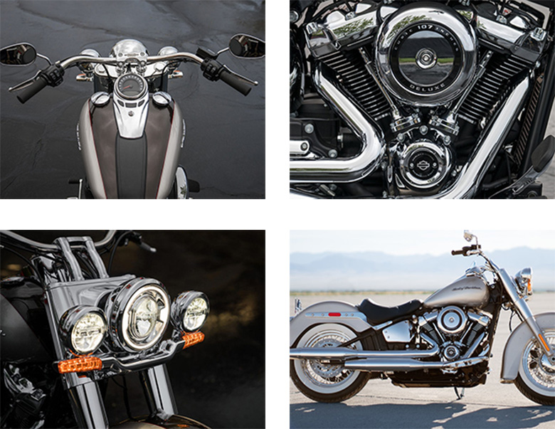 2018 Softail Deluxe Harley-Davidson Cruisers Specs