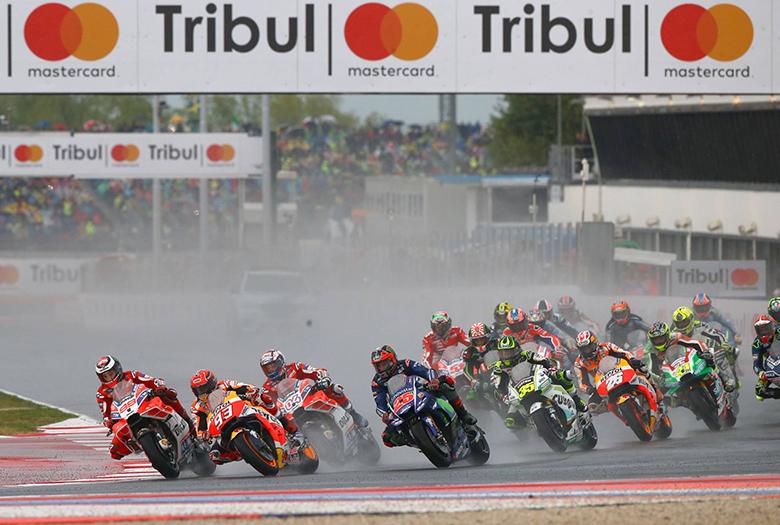 Tribul GP S.Marino E Riviera Di Rimini MotoGP Race 2017