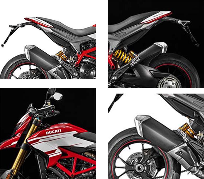 2017 Ducati Hypermotard 939 SP Dual Purpose Bike Specs