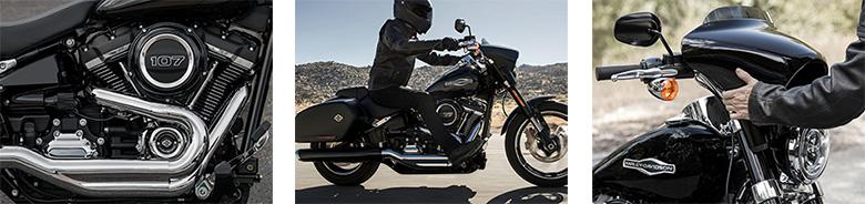 2018 Harley-Davidson Sport Glide Softail  Specs