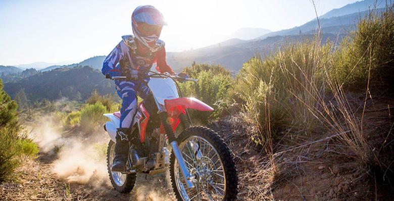 2018 CRF125F Big Wheel Trail Dirt Bike