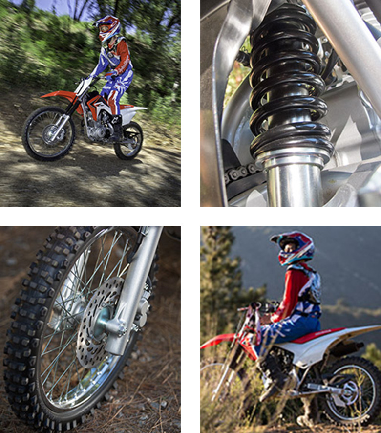 2018 CRF125F Big Wheel Trail Dirt Bike Specs