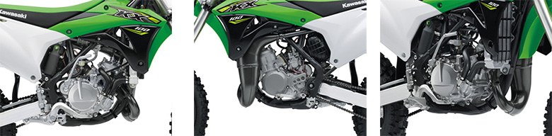 Kawasaki 2018 KX 100 Motocross Bike Specs