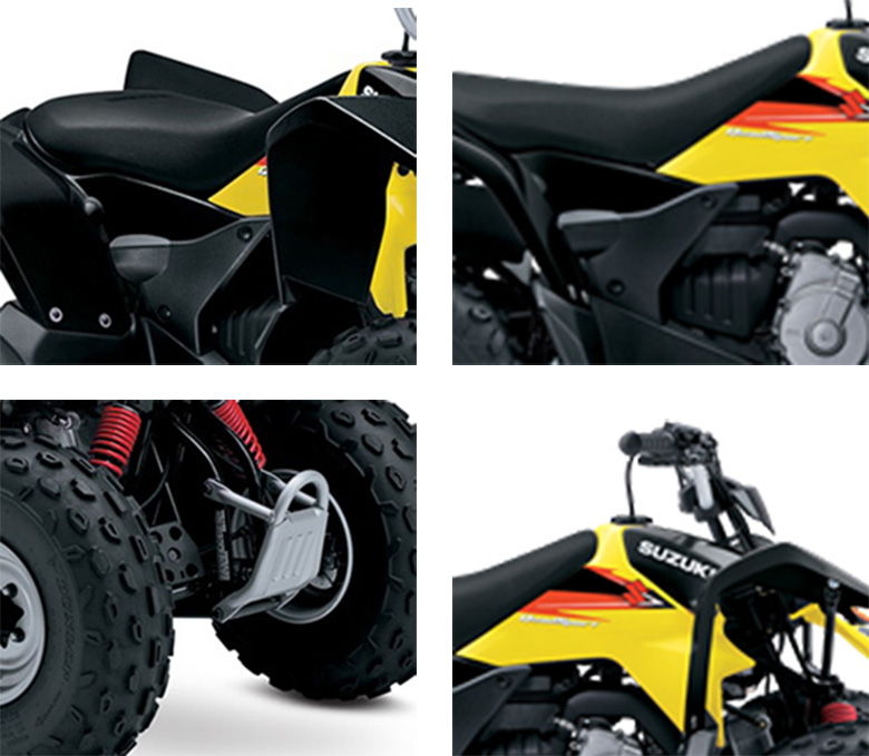 Suzuki 2018 QuadSport Z90 Mini Quad Bike Specs