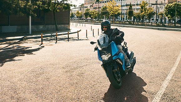 2018 BMW C400X Scooter