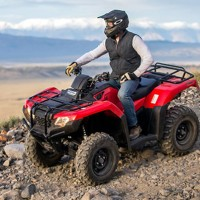 2018 Honda FourTrax Rancher Utility ATV